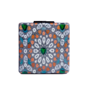 yazi clutch arabia orange