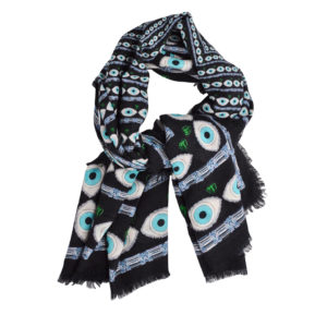Multi Eye Scarf By Yazi
